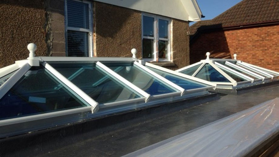 Two Roof Lanterns